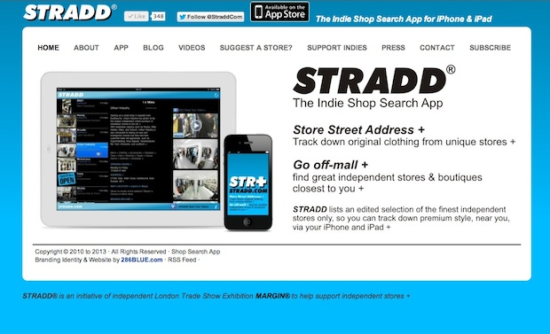 New Stradd Website by 286Blue