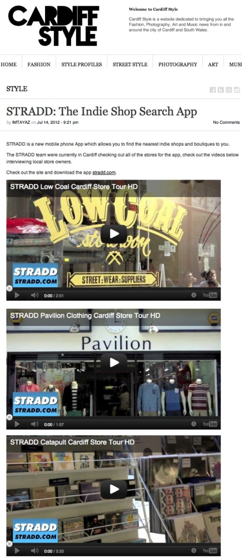cardiff style blog feature stradd app and catapult pavilion and low coal